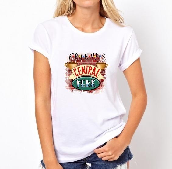 Camisa Camiseta Blusa T-shirt - Friends Central Perk