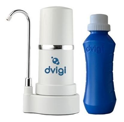 Purificador Sobre Mesada Blanco + Botella Bot Dvigi