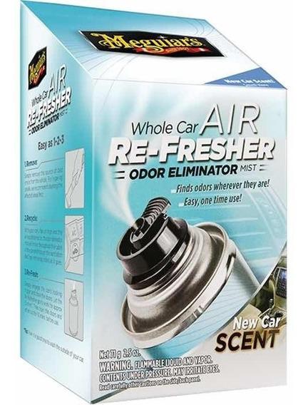 Meguiars Air Re-fresher Mist 57 Gr - Tratamiento De Olores