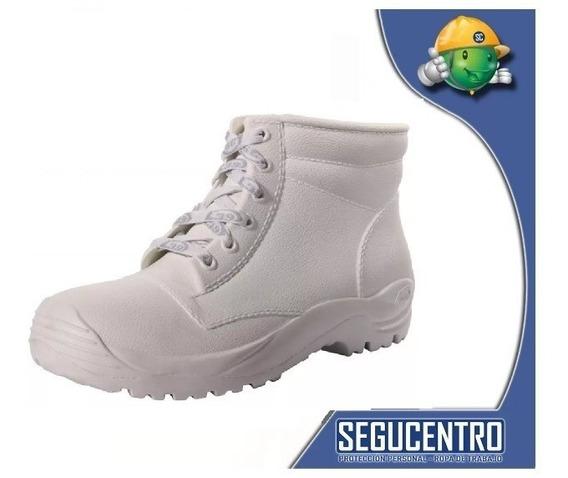 Botin Frigorifico Goma Blanco