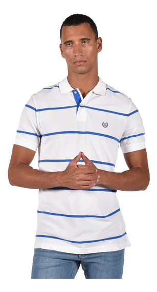 Polo Classic Fit Chaps Blanco 750705705-2wgr Hombre