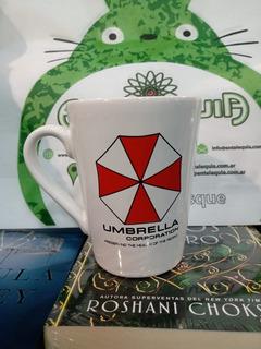 Taza Mug Resident Evil Umbrella Logo