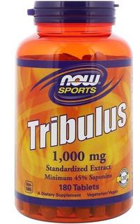 Tribulus Terrestris 1000mg 180 Tablet Now Foods Saúde Sexual