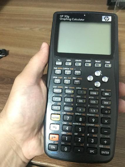 Calculadora Gráfica Hp 50g P/ Engenheiros Eletricista Civil