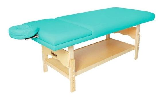 Maca De Massagem Reclinável, Altura Regulável Plêiades Legno