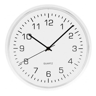 Reloj De Pared Free Home 30 Cm Blanco Reloj De Pared Tk668
