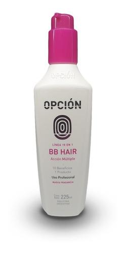 Imagen 1 de 3 de Alisado Reparador Capilar Profesional 10 En 1 Opción Bb Hair