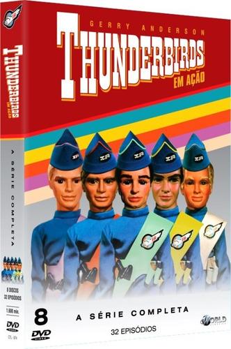 Dvd Thunderbirds Em Ação Série Completa - Original Lacrado