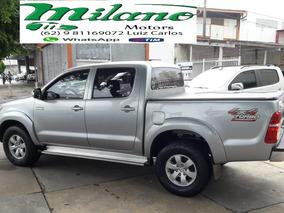 Toyota - Hilux - 3.0 Srv Turbo, Prata - 2015 / 2015 - Diesel