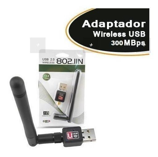 Adaptador Wireless Empire Usb 300mbps Ant 7dbi
