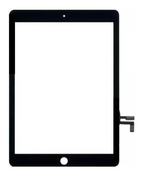 Tela Touch Vidro iPad 5 A1822 A1823 9.7 Polegadas Preto