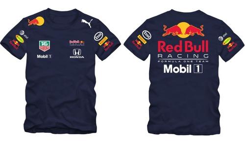 Imagem 1 de 9 de Camiseta Red Bull Racing Team F1 Astom Honda Camisa Am.006