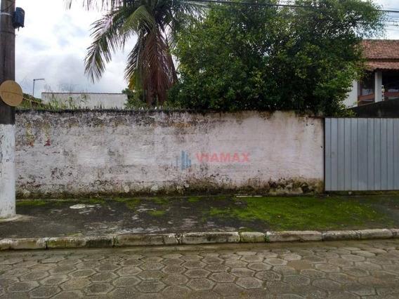 Terreno À Venda, 435 M² Por R$ 400.000 - P Cruz - São Sebastião/sp - Te0260