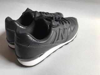 Tenis New Balance 696 Black Leather 29 Cms Usados