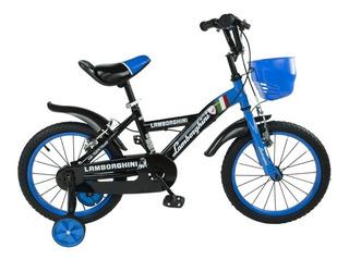 Bicicleta Infantil Rodado 16 Lamborghini 7114