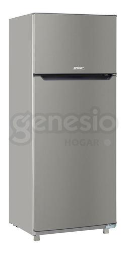 Heladera Con Freezer Briket Bk2f 1620 Gp Hc A1 322 Lts Plata