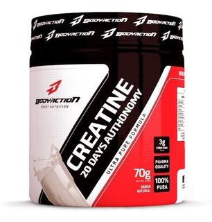 Creatine Powder 100% Pura 70g - Body Action