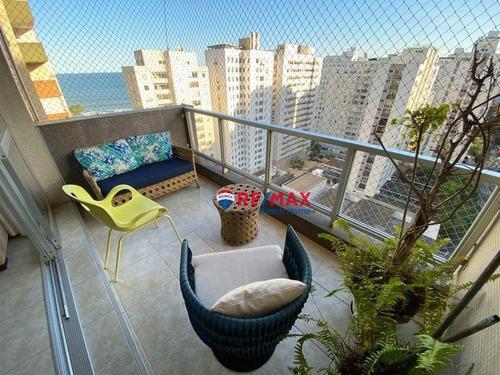 Imagem 1 de 23 de Apartamento À Venda, 134 M² Por R$ 700.000,00 - Pitangueiras - Guarujá/sp - Ap3201