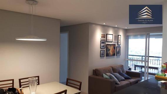 Apartamento No Condomínio Bosque Ventura, 80m², 3 Dormitórios, 2 Vagas, Aceita Permuta. - Ap0573
