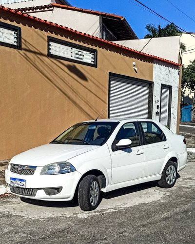 Imagem 1 de 12 de Fiat Siena El 1.0 2013 Branca