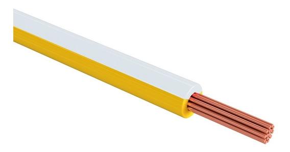 Sanelec 4081 Cable Thw Calibre 12 Awg Color Blanco 100m