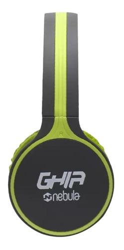 Imagen 1 de 2 de Audifonos Diadema Bluetooth Ghia N1 Hifi Sound