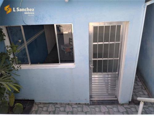 Casa Com 1 Dormitório Para Alugar, 60 M² Por R$ 900,00/mês - Parque Olimpico - Mogi Das Cruzes/sp - Ca0299