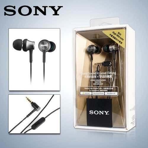 Fone De Ouvido Intra Auricular Sony Ex650ap Com Microfone