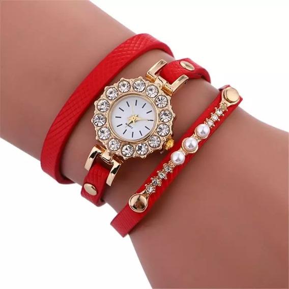Relógio Feminino Pulseira Bracelete Vintage