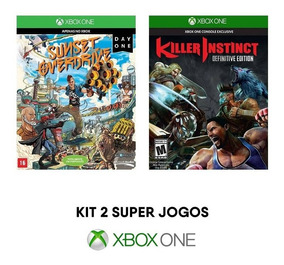 Sunset Overdrive + Killer Instinct - Xbox One [ Mídia Fís. ]