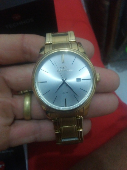 Relógio Tecnos Dourado