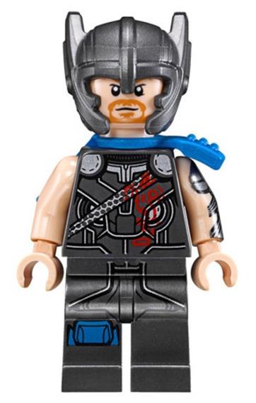 Thor: Ragnarok (con Casco) Bloques De Construccion