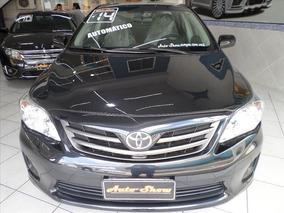 Toyota Corolla Toyota Corolla Gli 1.8 2014 Automático Preto