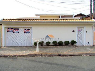 Casa Residencial Para Venda Ou Locação, Jardim Ouro Verde, Limeira. - Ca0409