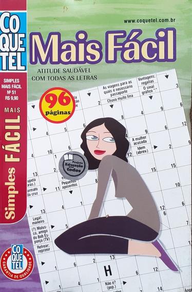 Kit Palavras Cruzadas Mais Fácil Coquetel 07 Volumes.