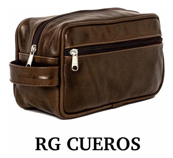 Neceser De Cuero Legitimo - Rg Cueros