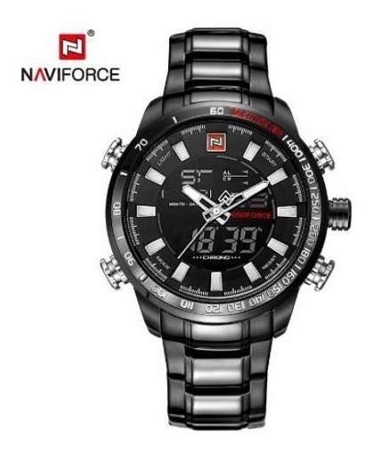Relógio Masculino Naviforce Militar Esportivo Luxo Qualidade