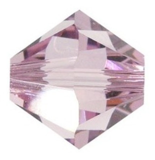 Cristal Swarovski 4 Mm (50 Unidades) Amatista . Bisuteria