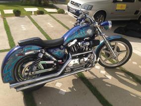 Harley Davidson Xl 1200 Sportster Custom - Abaixei!