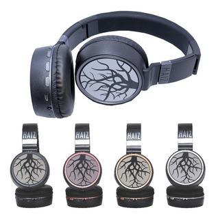 Fone Ouvido Bluetooth Haiz Sem Fio Cartão Sd Fm Mp3 Hz10