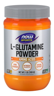 L Glutamine Powder Glutamina Pó Now Foods Sports Importado