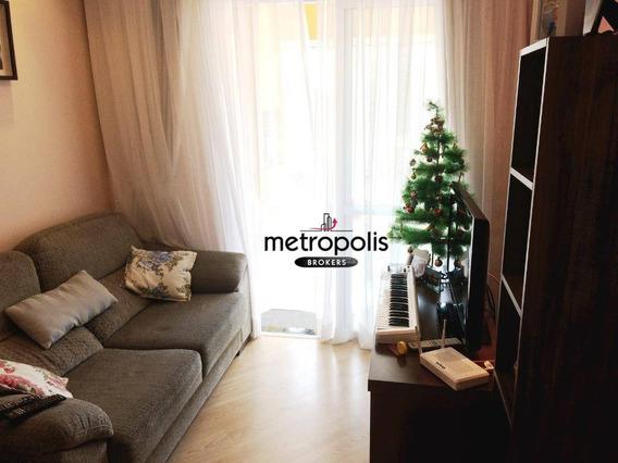 Apartamento Residencial Para Venda E Locação, Olímpico, São Caetano Do Sul. - Ap1463