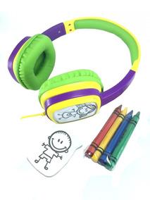 Fone De Ouvido Headphone Oex Kids Personalizavel Hp302