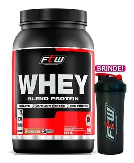 Whey Protein Blend Chocolate Ftw Mix De Proteínas