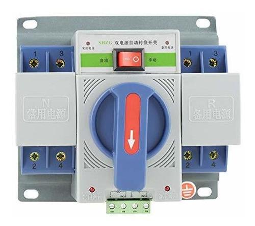 Interruptor De Transferencia 220v 63a Mini Disyuntor Automát