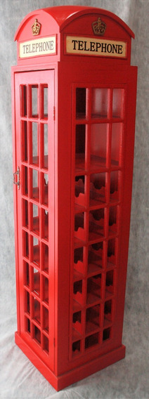 Adega Cabine Telefônica 171cm - Frete Gratis Sul/sudeste