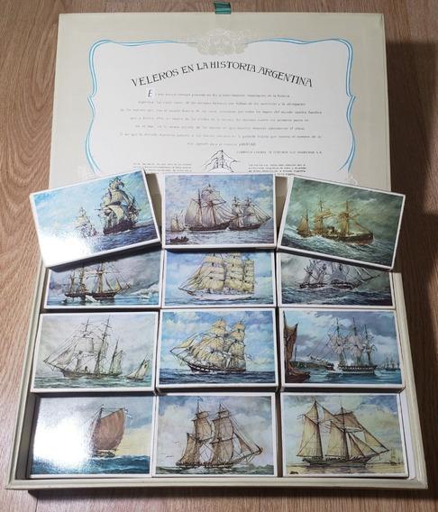 Coleccion Fragatas Argentinas 18 Cajas De Fosforos