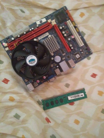 Placa Mãe Com Processador Celeron 2.60ghz