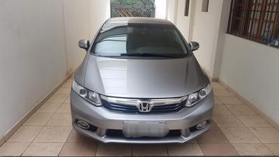 Honda Civic Automatico 2.0 Lxr Flex Couro