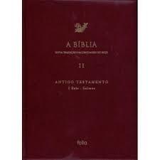 A Biblia Volume 2 Antigo Testamento I Re Editora Folio